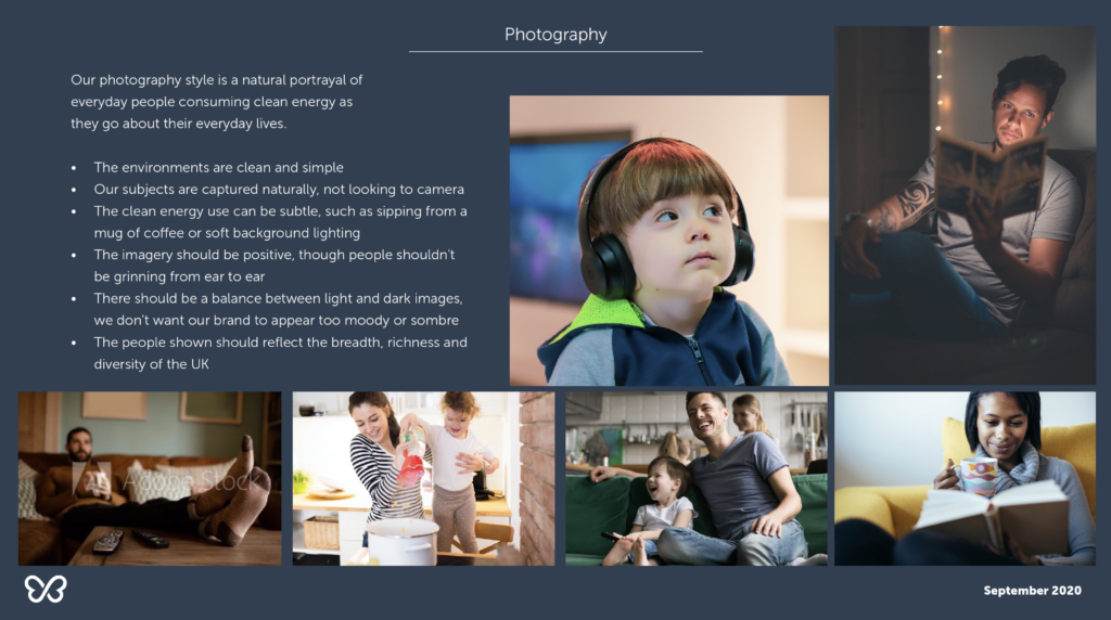 Our photography guidelines