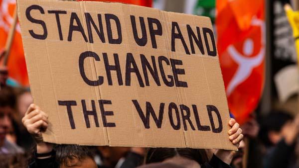 businesses to demand urgent climate action